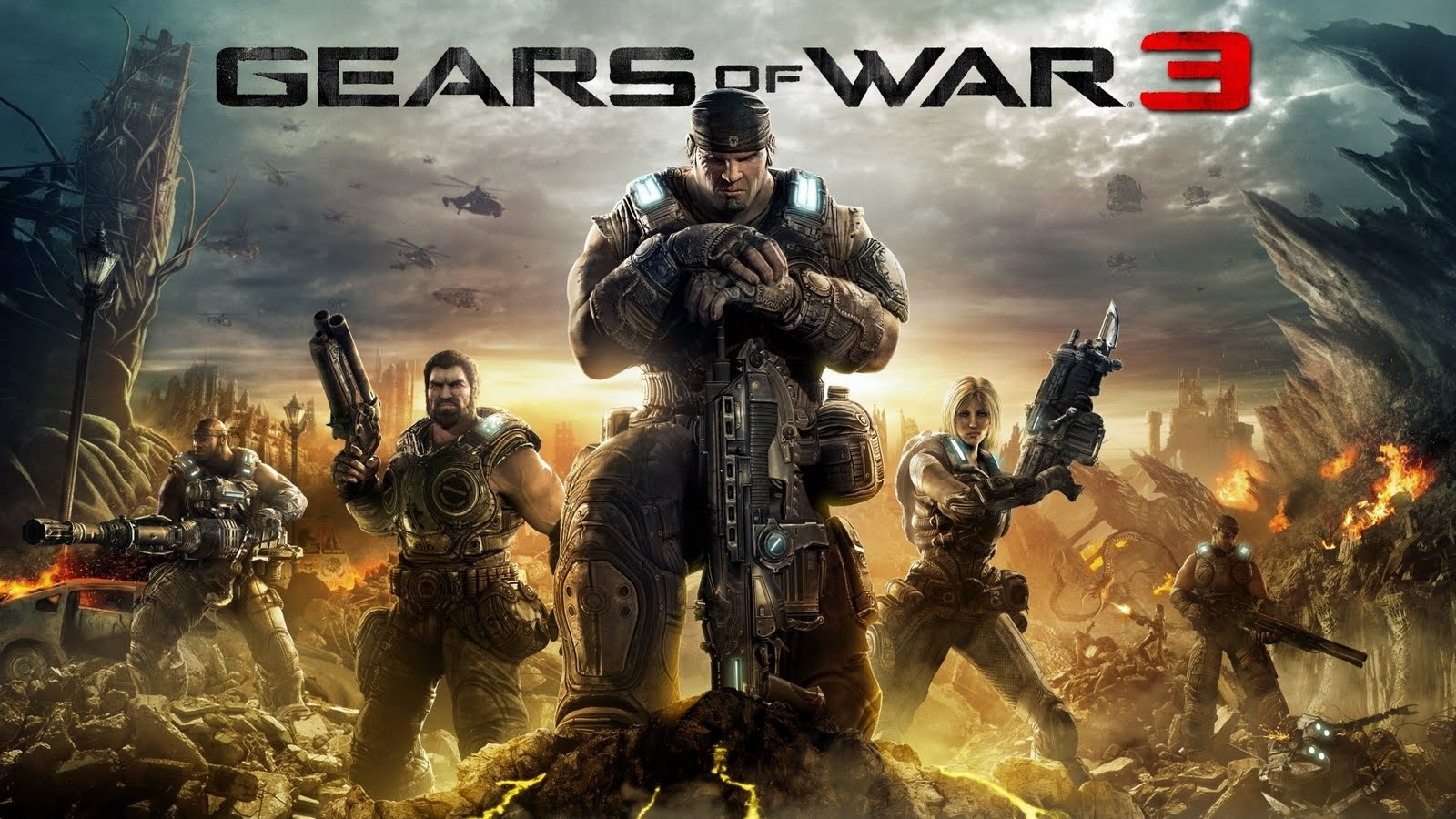 Gears of war 3 wallpaper 5