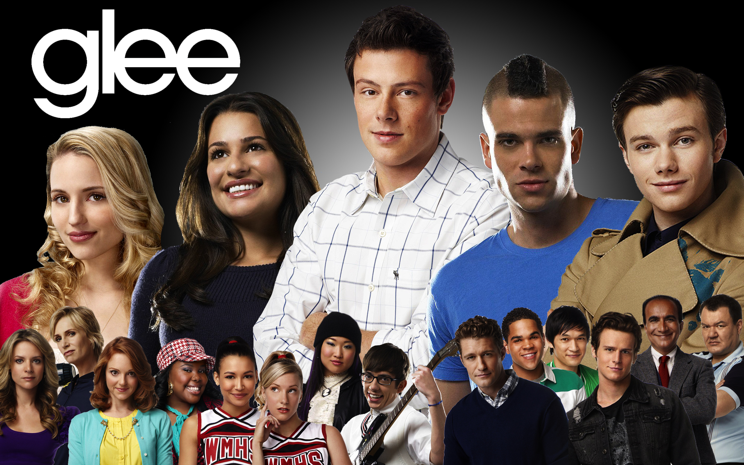 Glee wallpaper 1