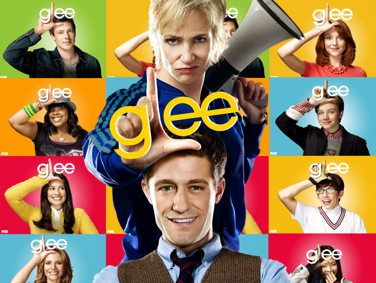 Glee wallpaper 7