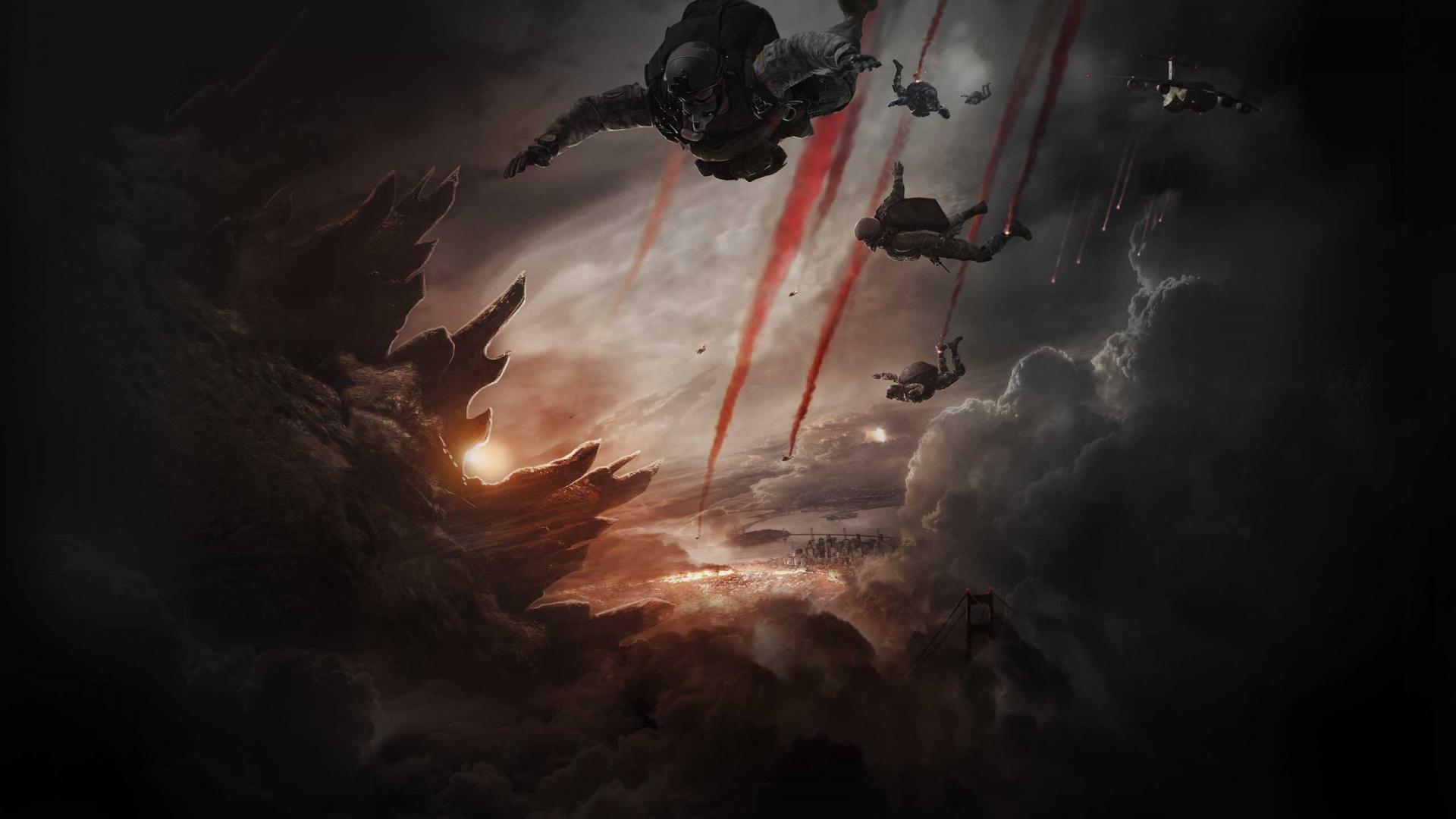 Godzilla 2014 wallpaper 2
