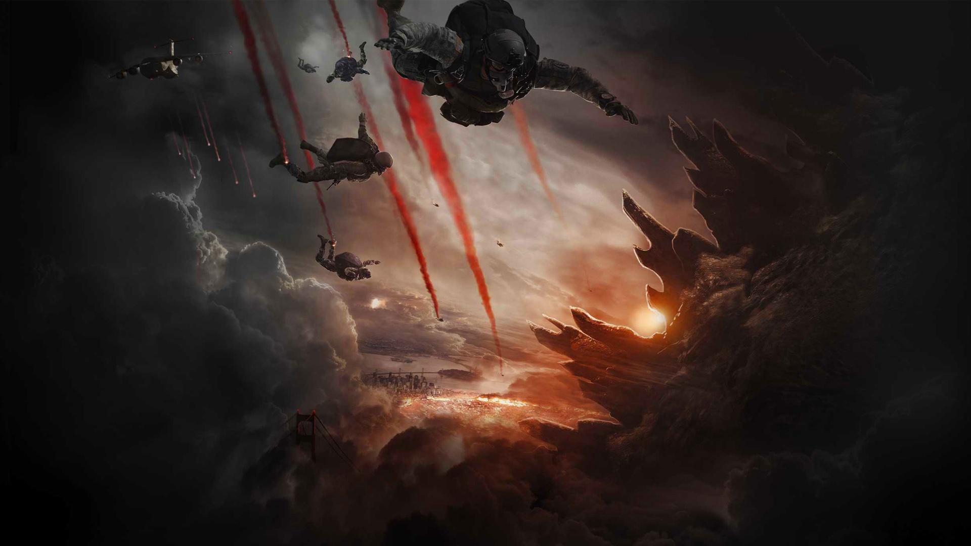 Godzilla 2014 wallpaper 3