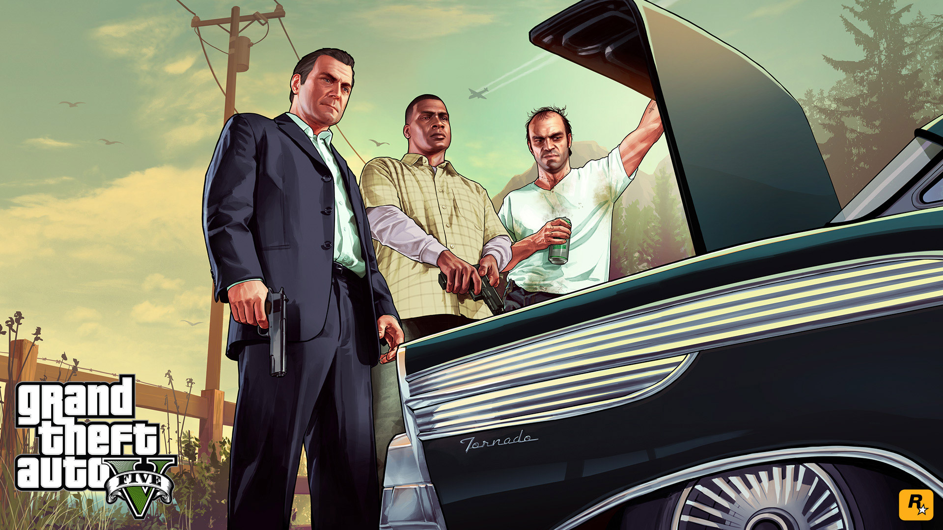 Grand Theft Auto 5 wallpaper 22
