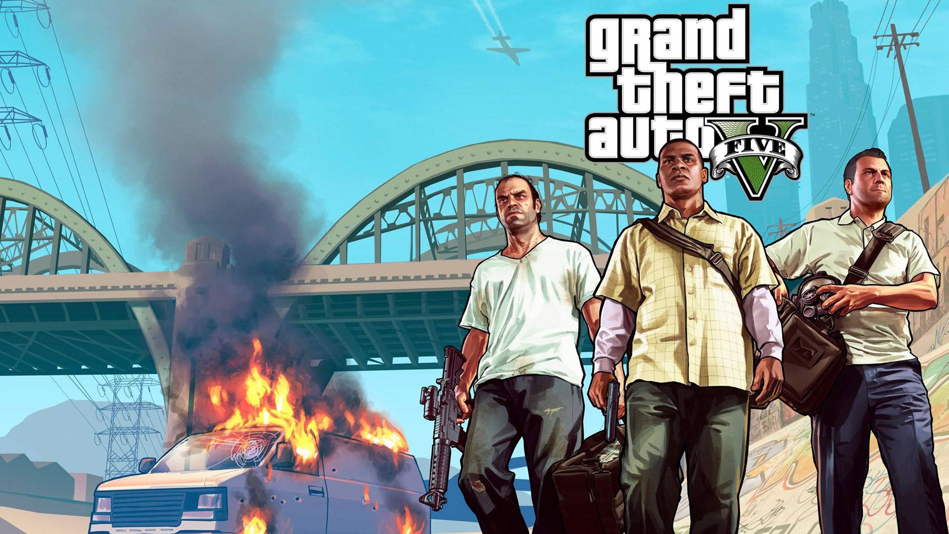 Grand Theft Auto 5 wallpaper 24