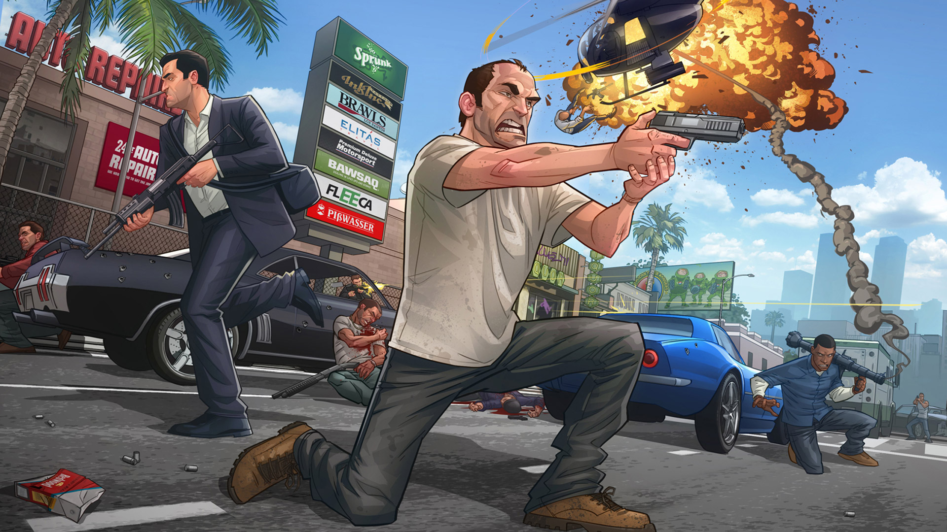 Grand Theft Auto 5 wallpaper 28