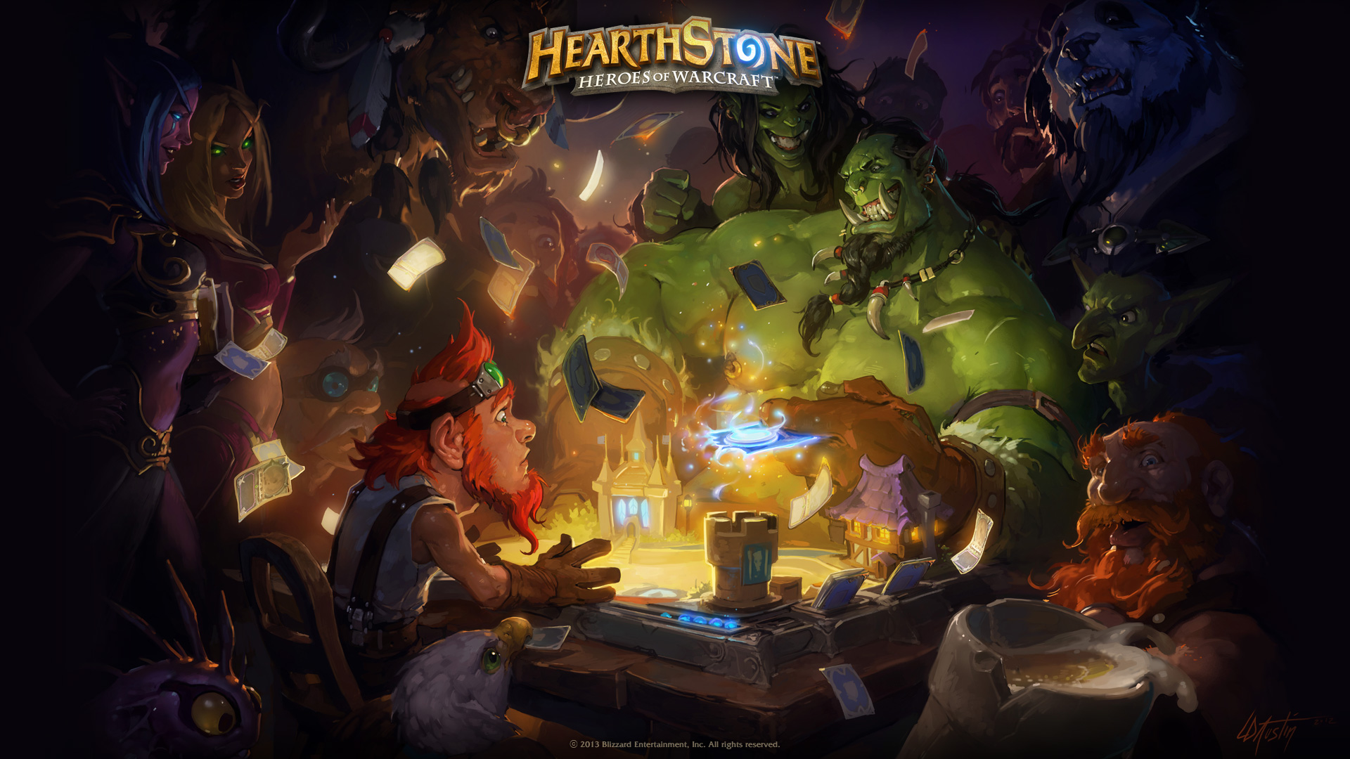 Hearthstone Heroes of Warcraft wallpaper 1