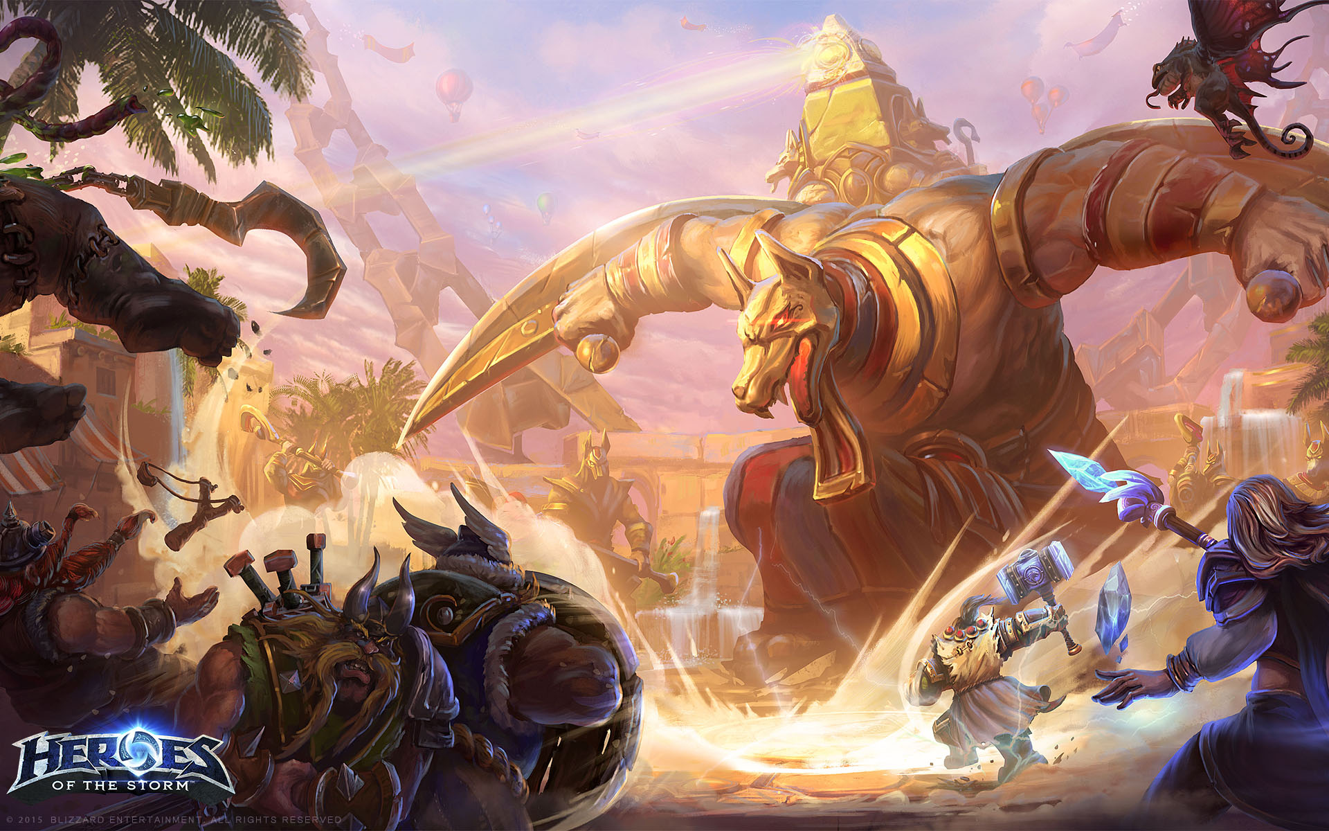 Heroes of the Storm wallpaper 3