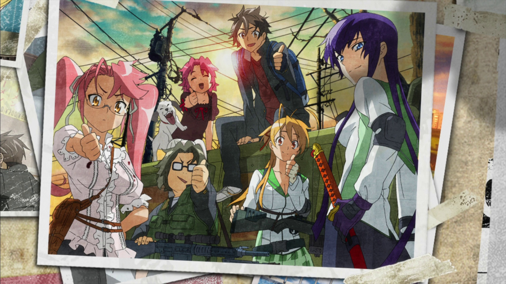 High School of the Dead wallpaper 10