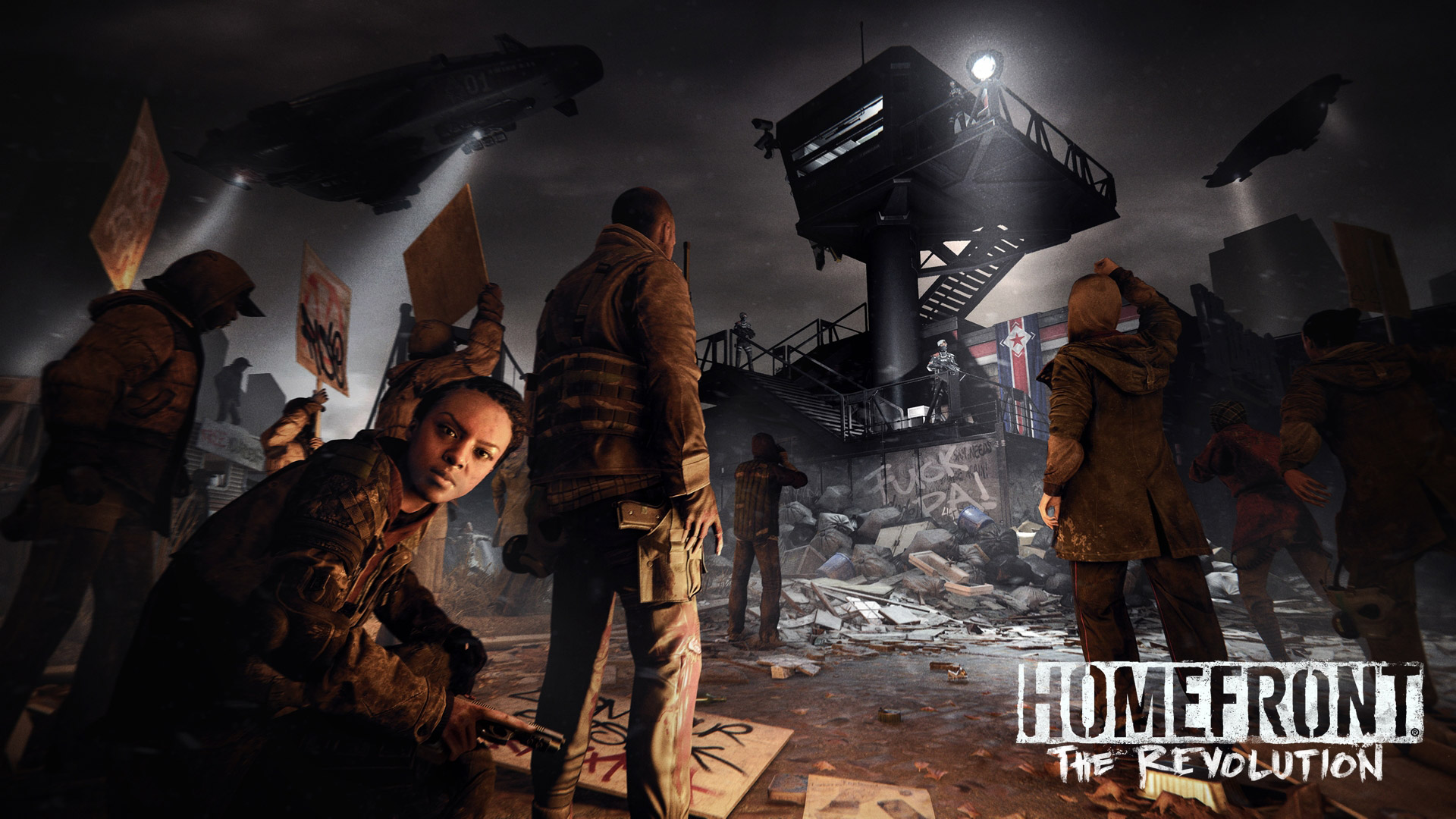 Homefront The Revolution wallpaper 1