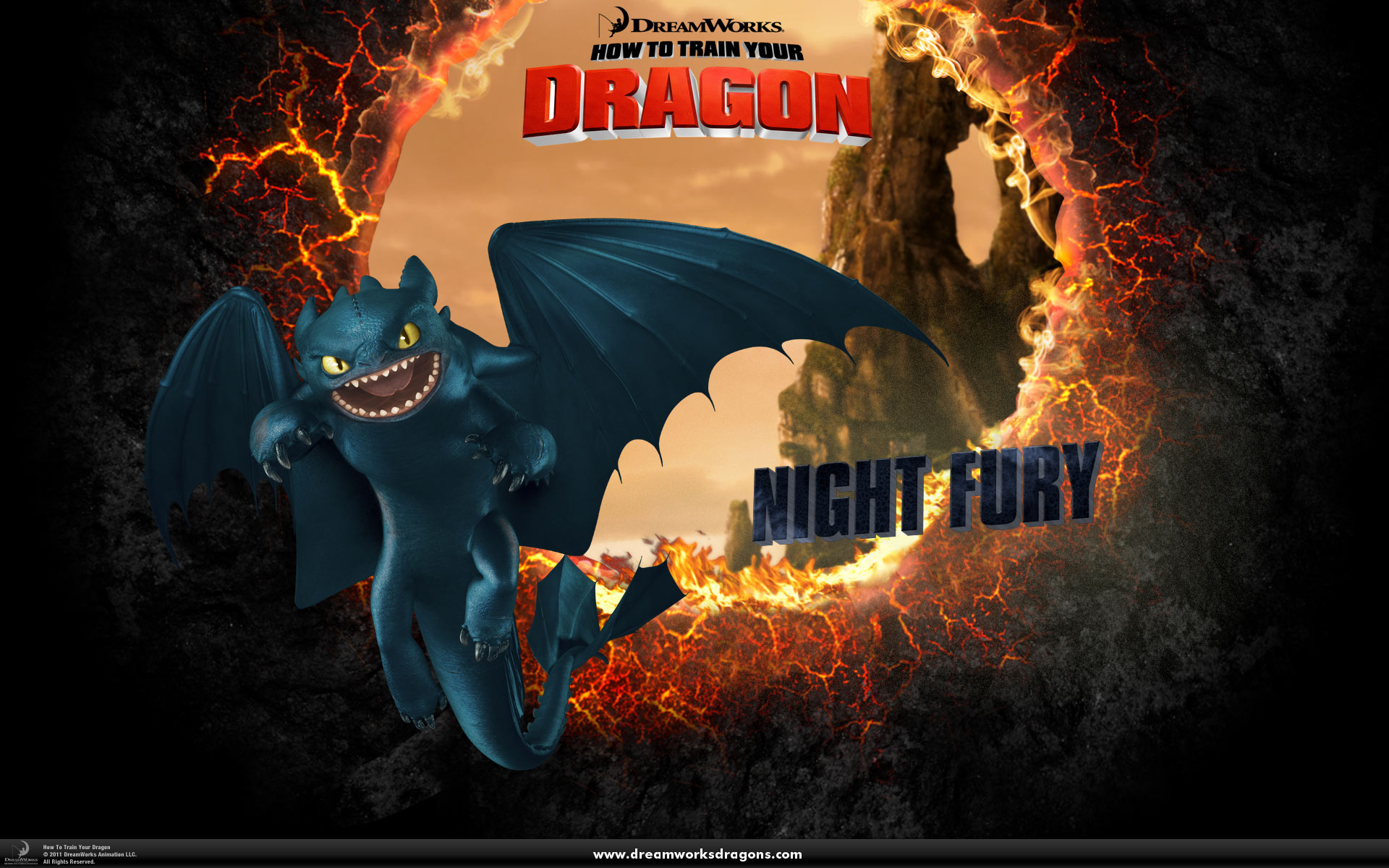 How Train Your Dragon Wallpaper 2
