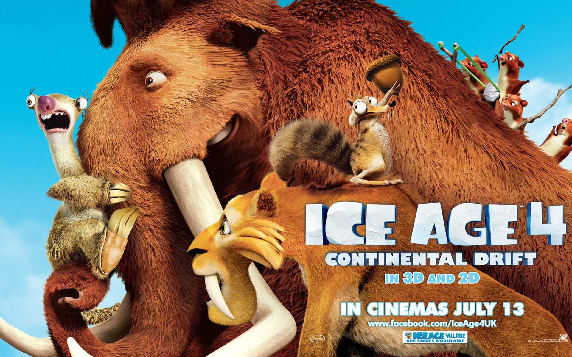 Ice Age 4 Continental Drift wallpaper 12