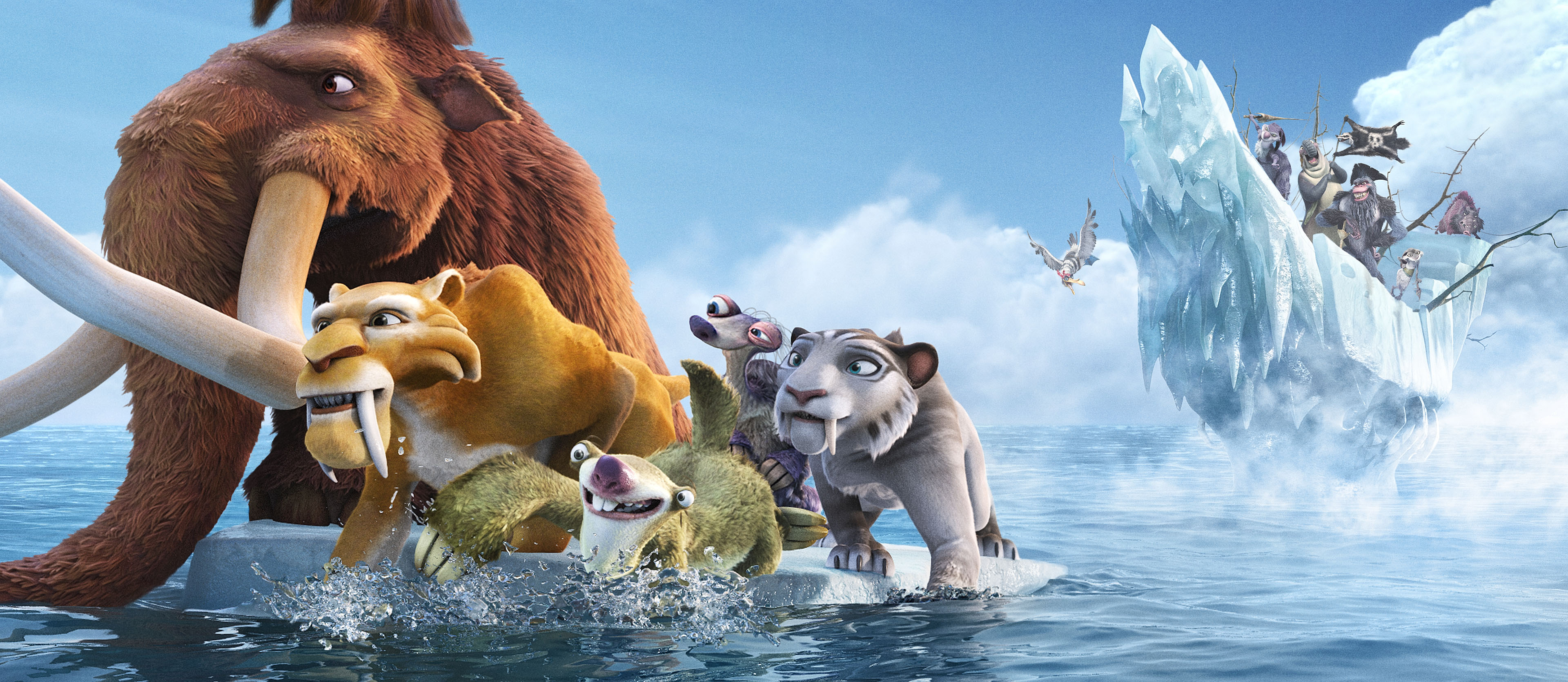 Ice Age 4 Continental Drift wallpaper 7