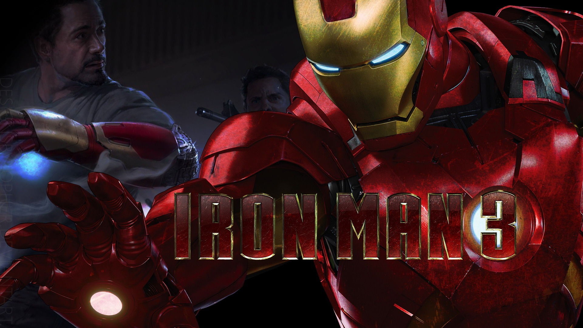 Iron Man 3 wallpaper 3
