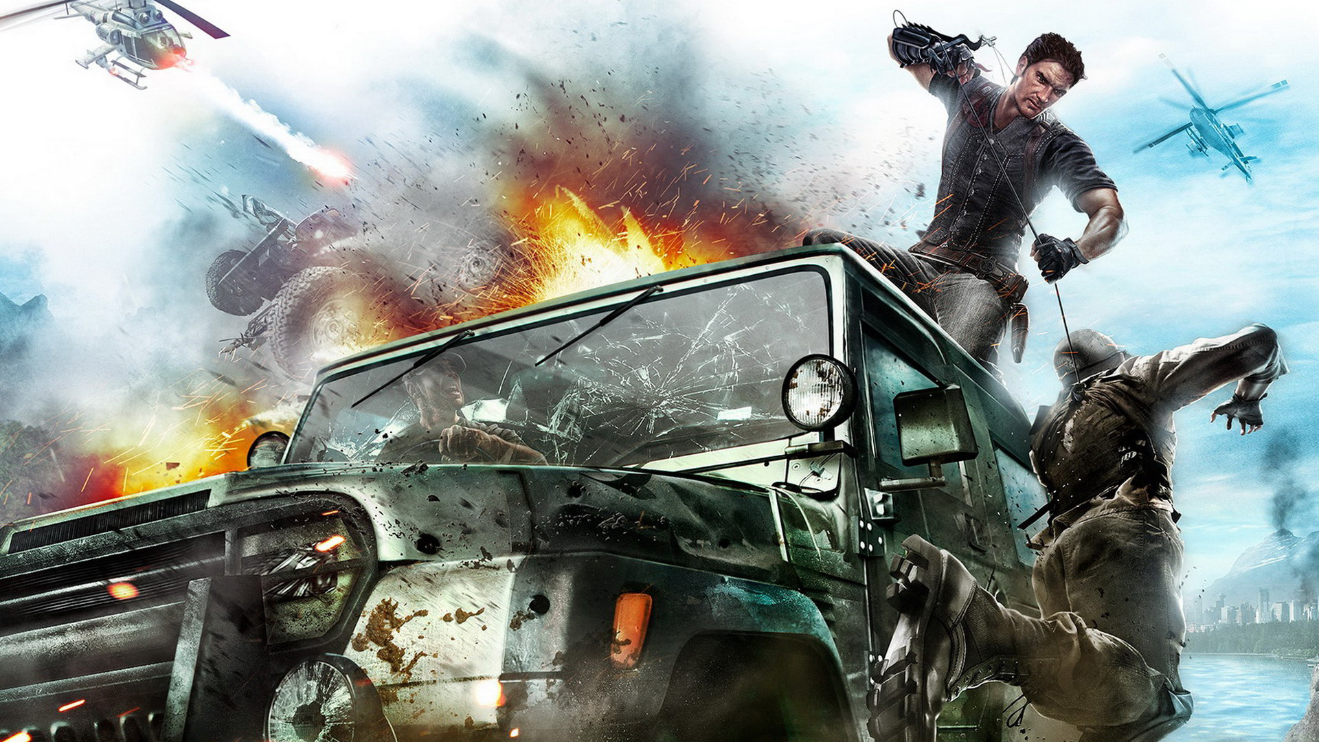 Just Cause 2 wallpaper 5