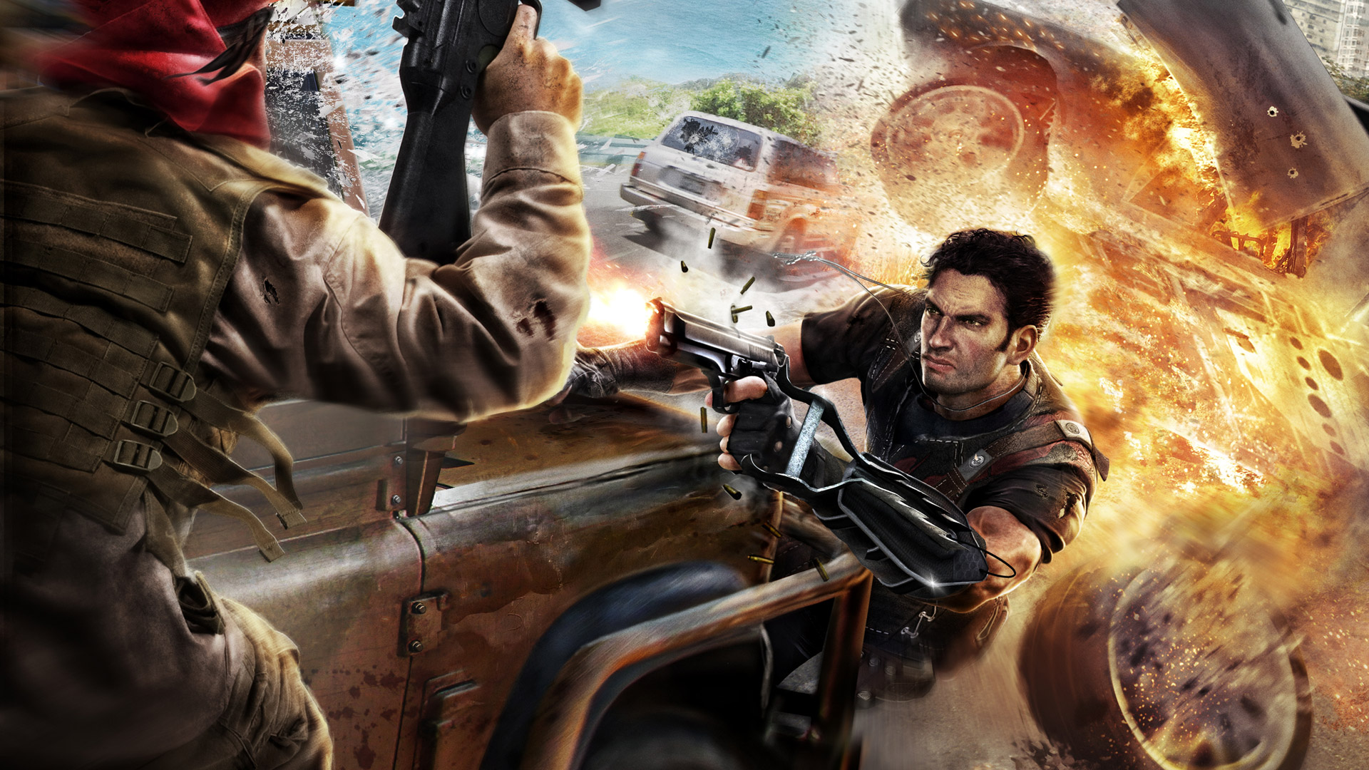 Just Cause 2 wallpaper 6