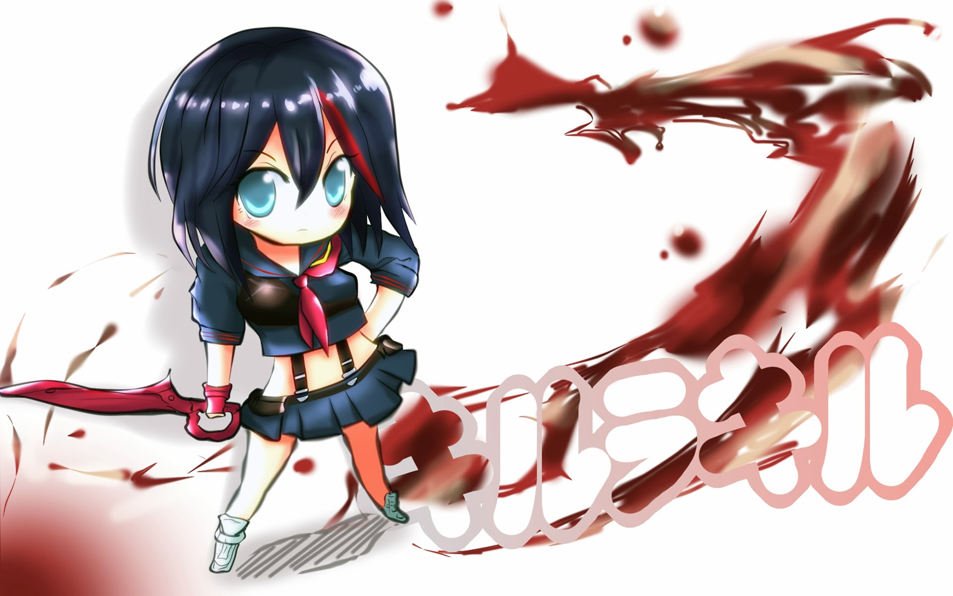Kill La Kill Wallpaper 7 Wallpapersbq