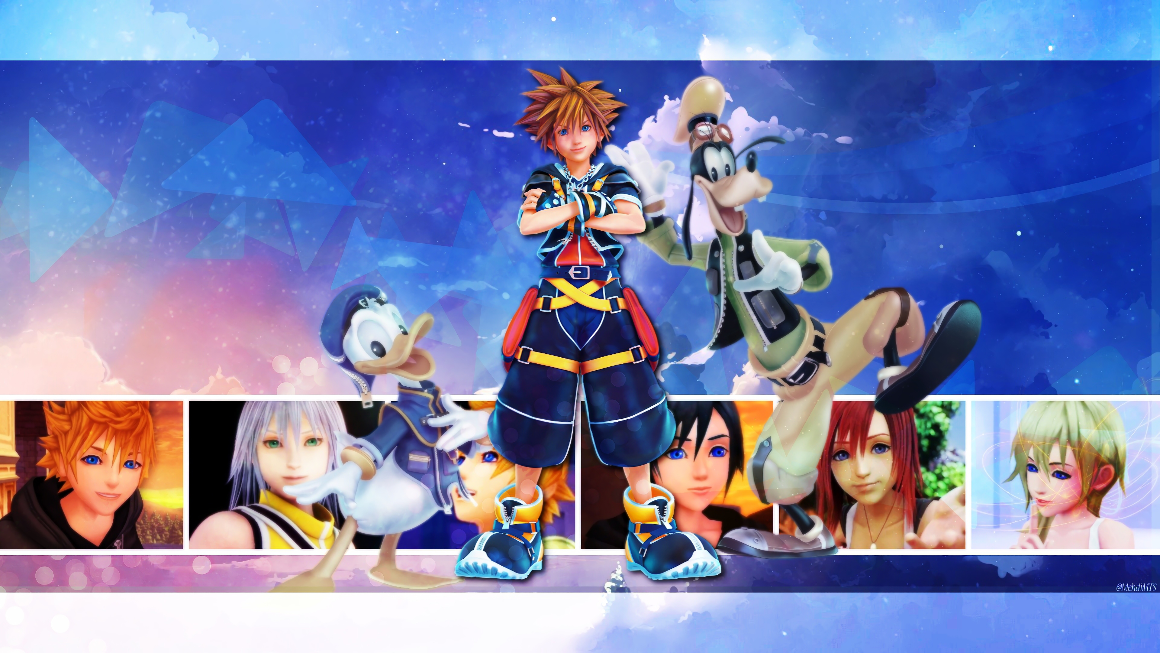 Kingdom Hearts 3 background 10