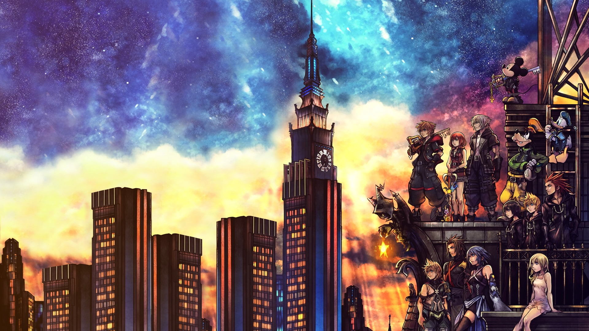 Kingdom Hearts 3 background 26