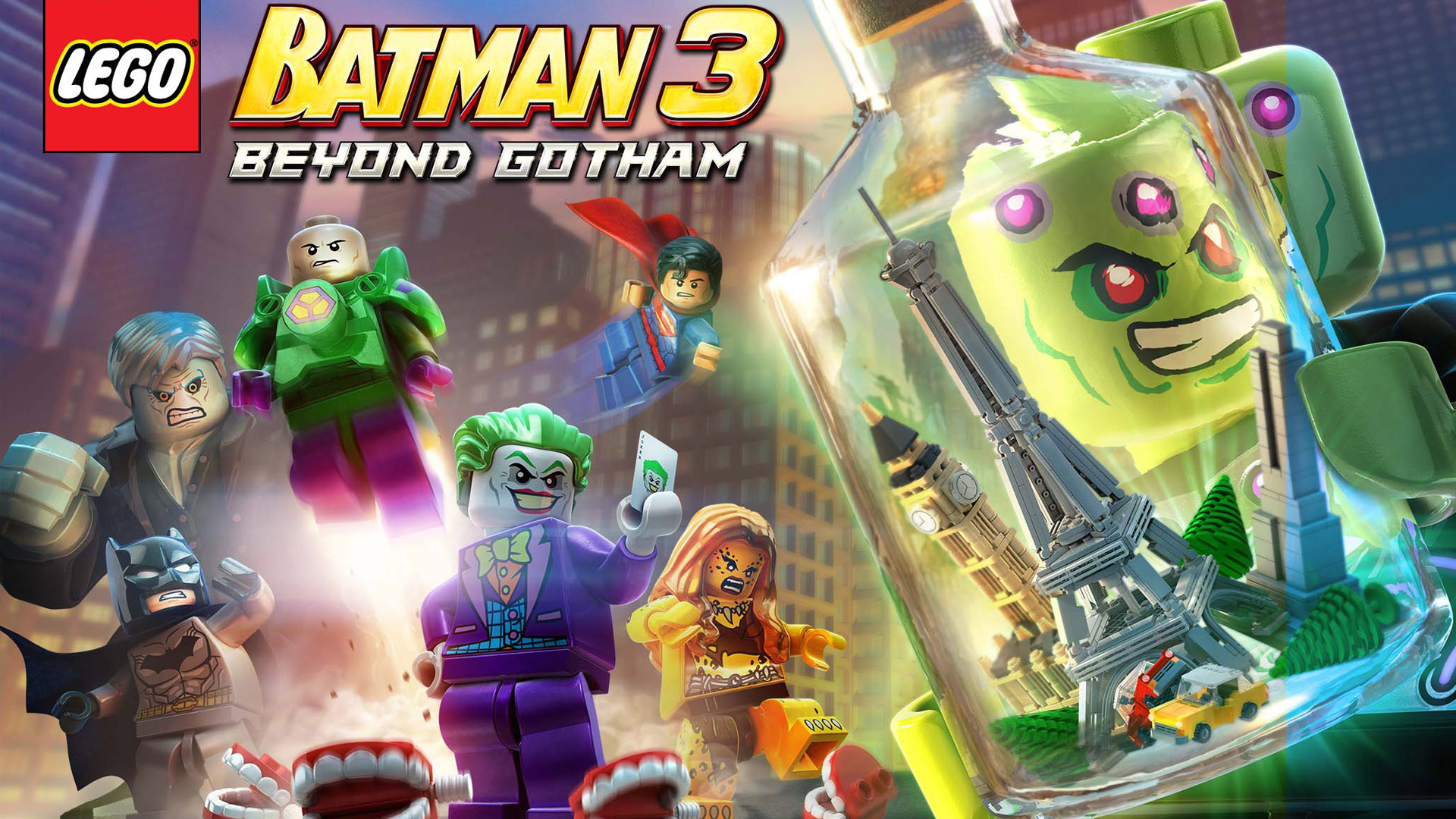 Lego Batman 3 Beyond Gotham wallpaper 1