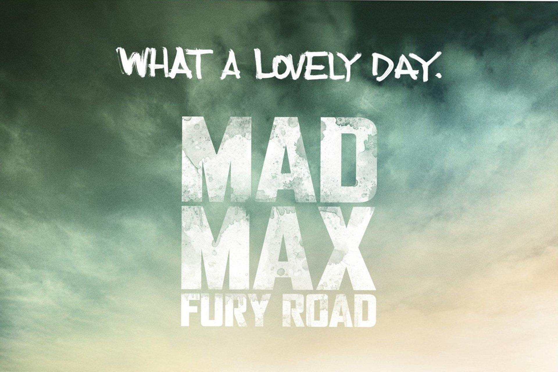 Mad Max Fury Road wallpaper 4