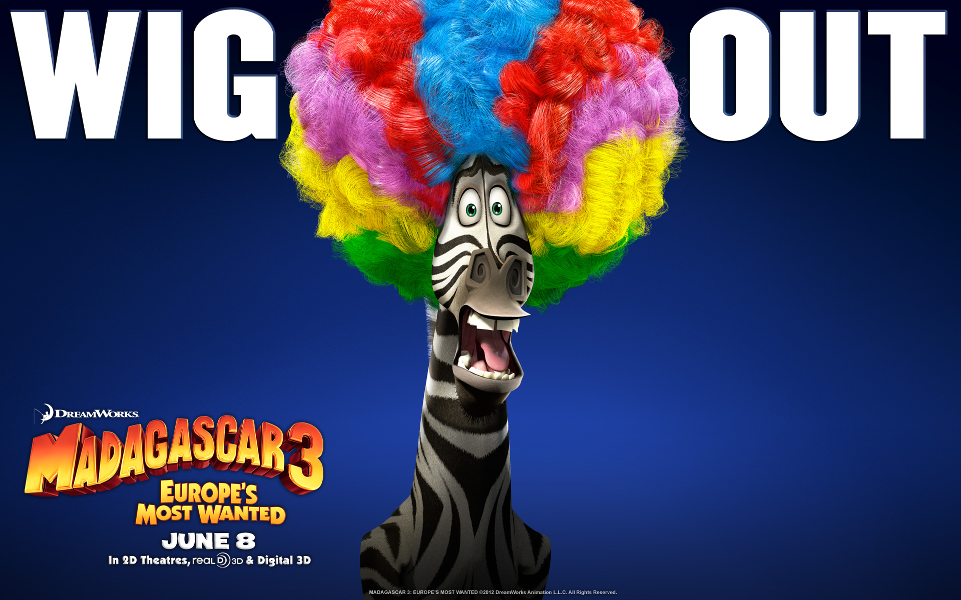 Madagascar 3 wallpaper 4