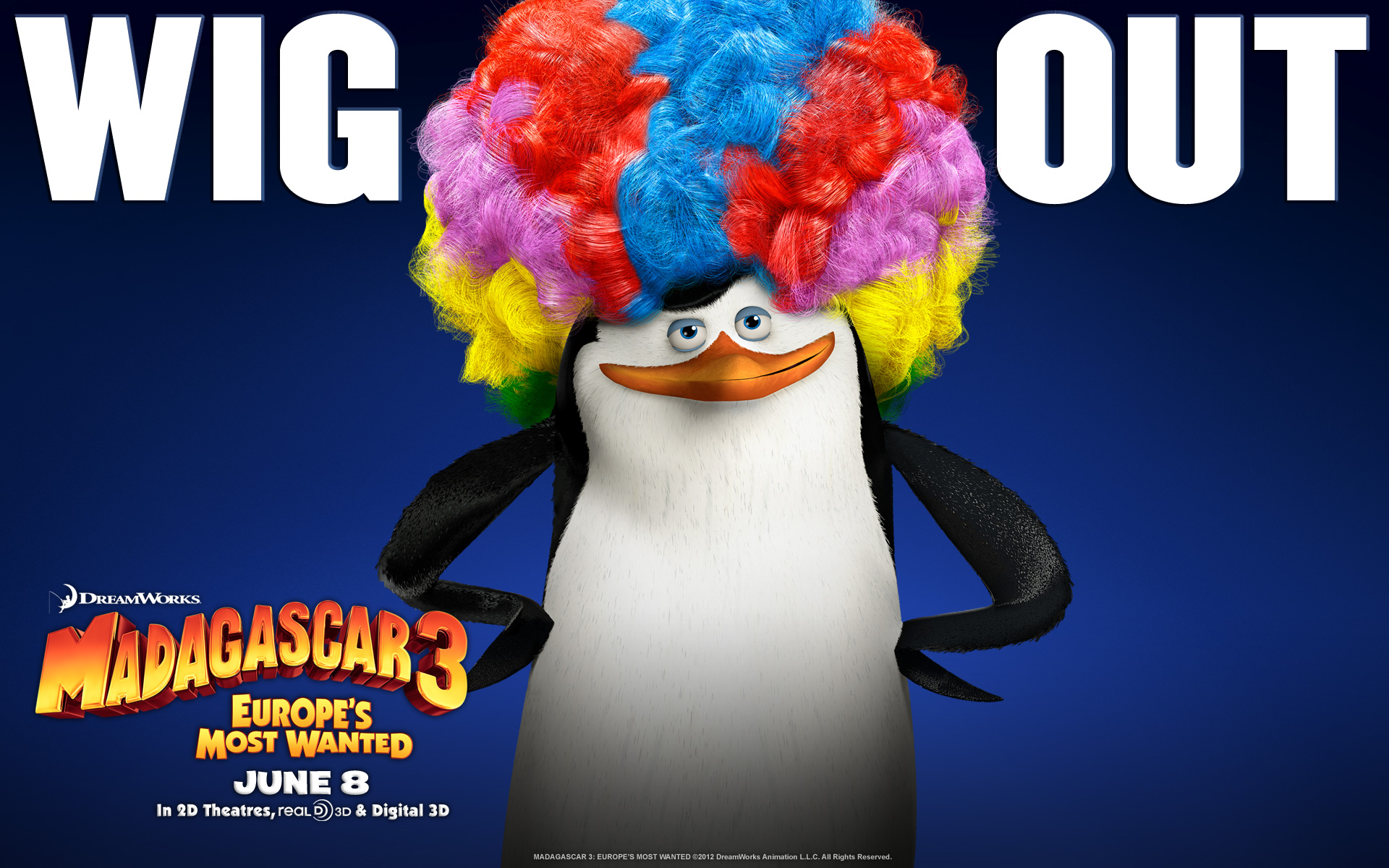 Madagascar 3 wallpaper 7