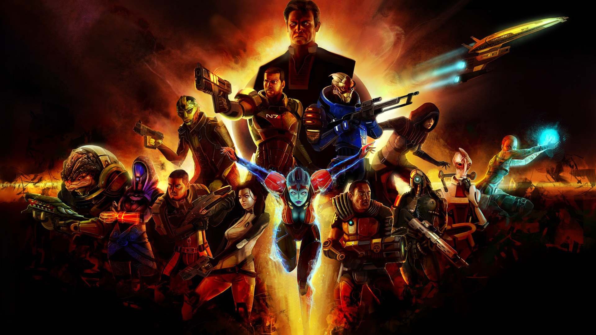 Mass Effect 2 wallpaper 5