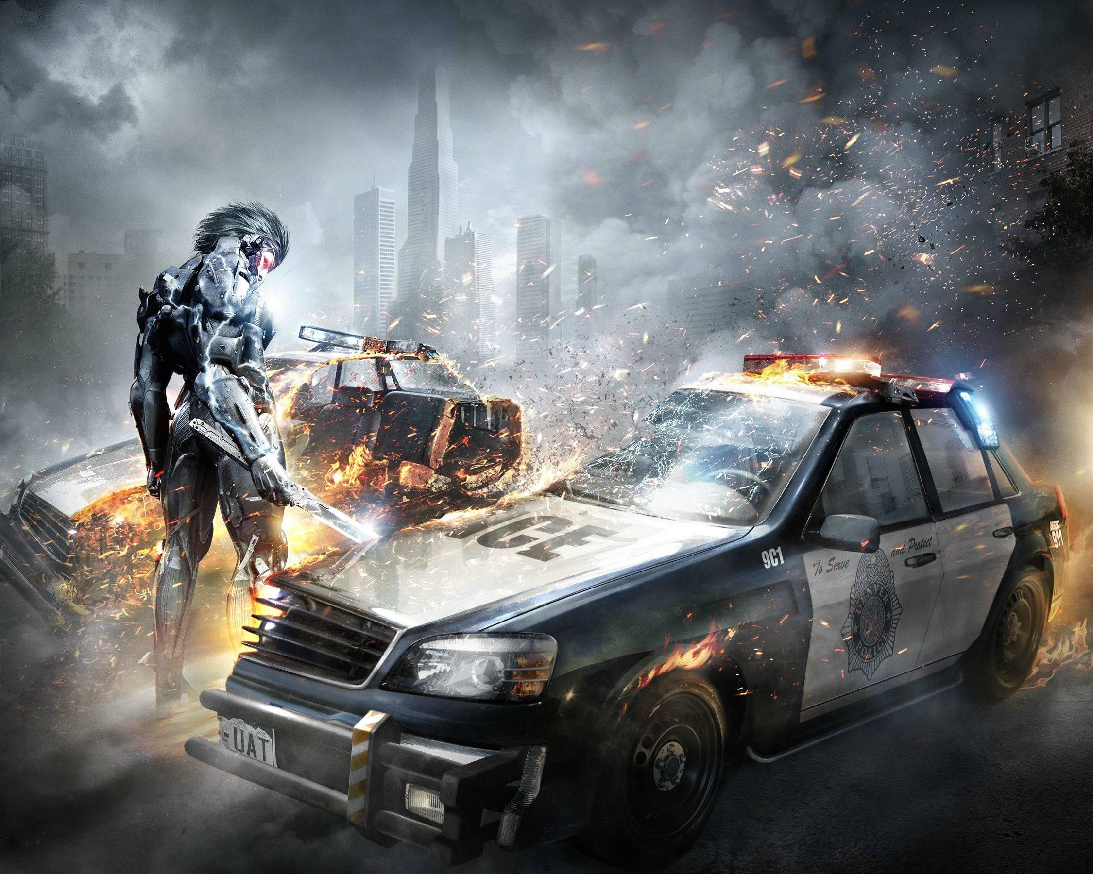 Metal Gear Rising Revengeance Wallpaper 3 Wallpapersbq
