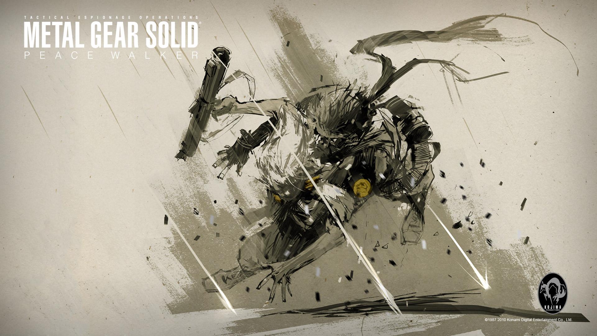 Metal Gear Solid Peace Walker wallpaper 1