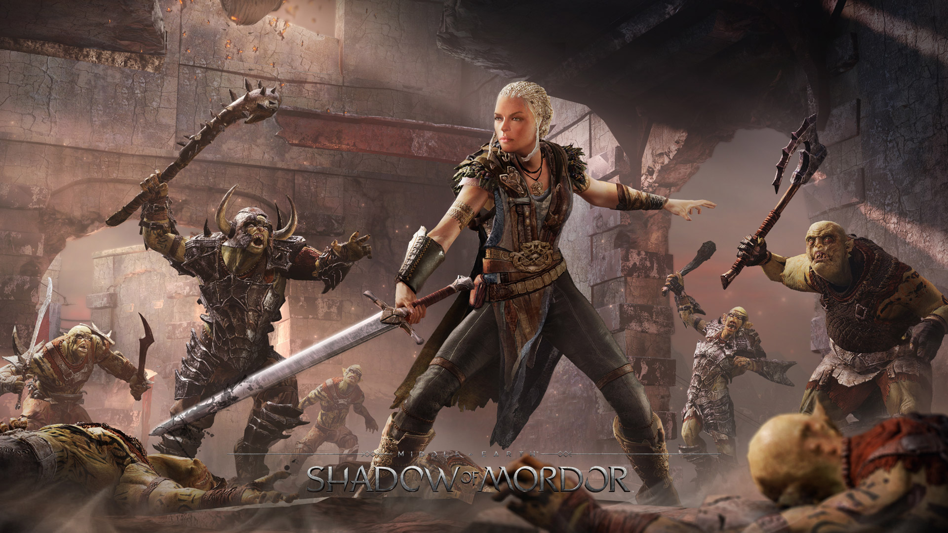 Middle-Earth Shadow of Mordor wallpaper 6