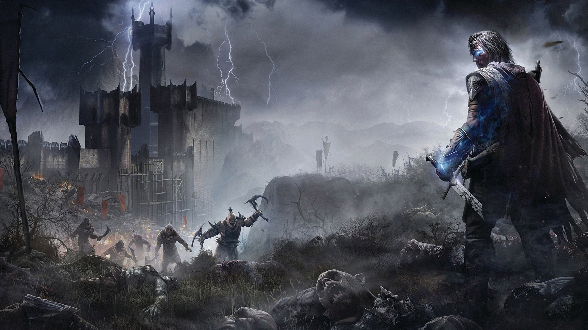 Middle-Earth Shadow of Mordor wallpaper 8