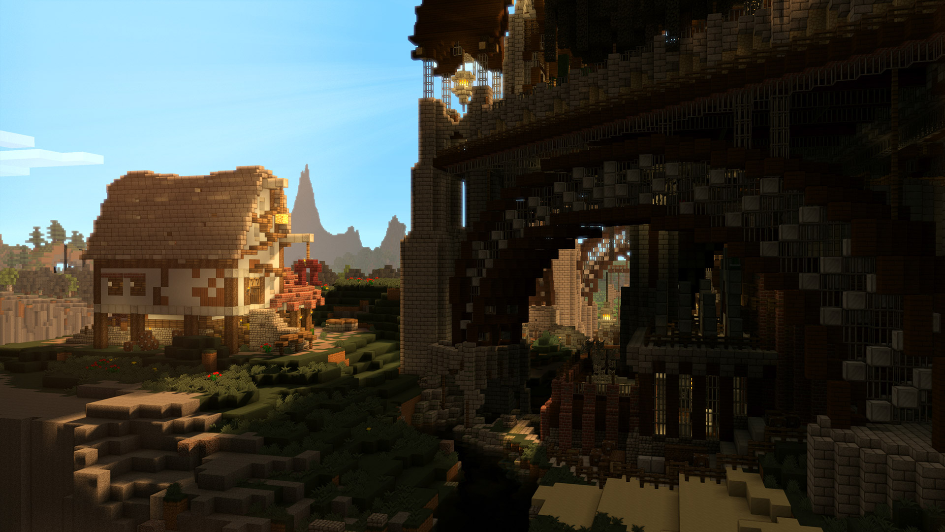 Minecraft wallpaper 9