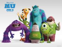 Monster University wallpaper 9