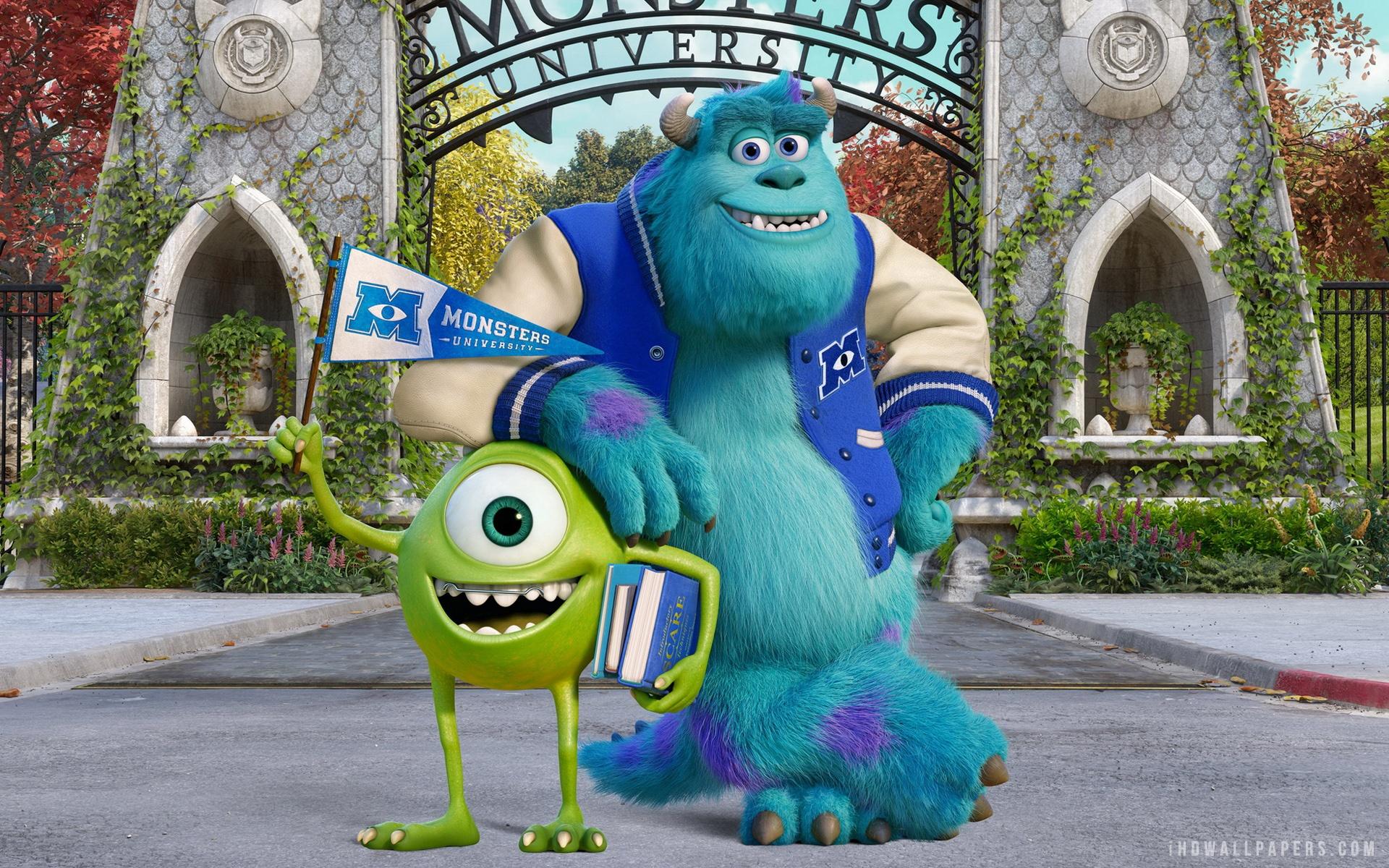 Monster University wallpaper 1