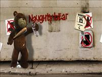 Naughty Bear wallpaper 1