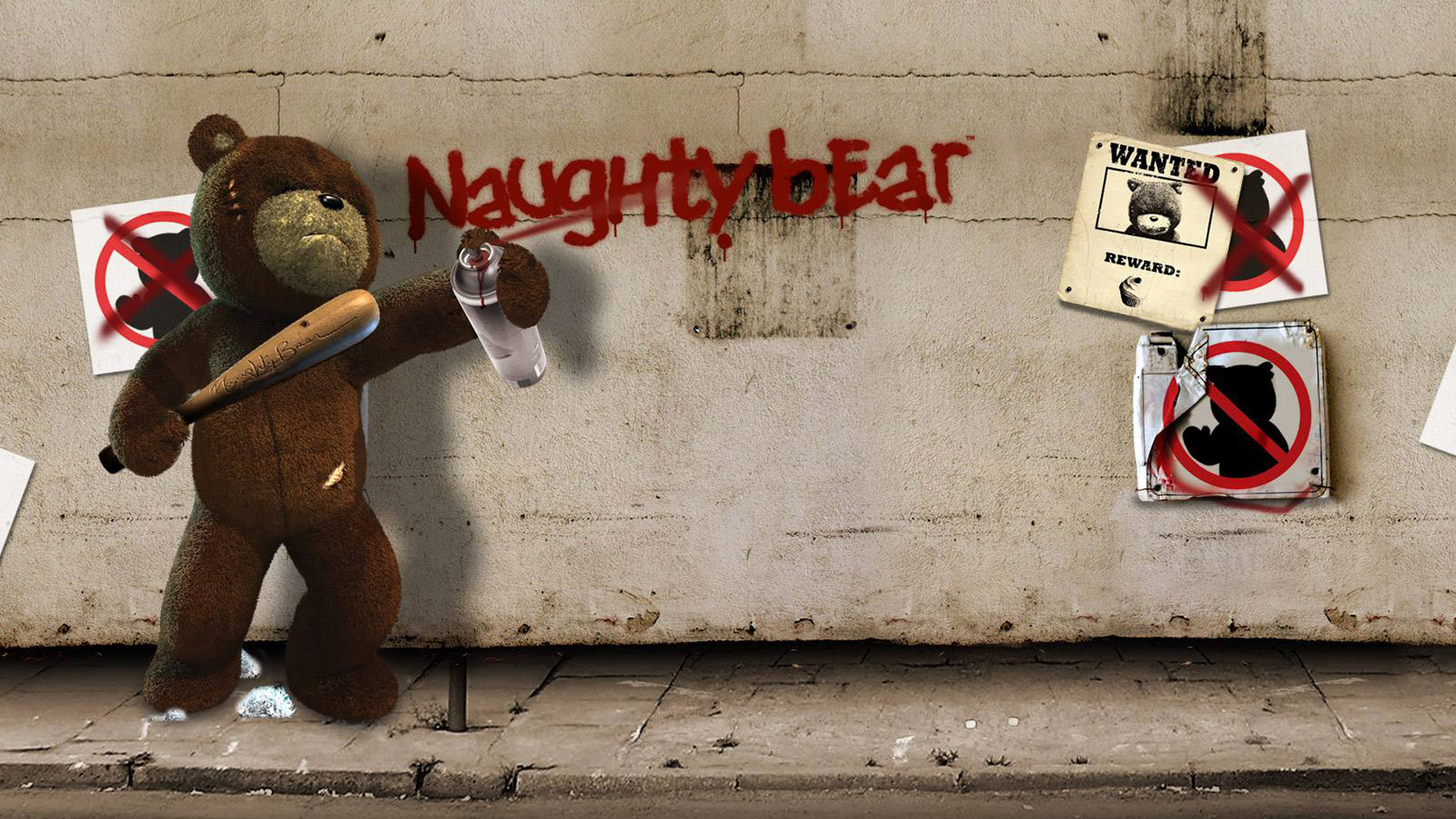 Naughty Bear wallpaper 1