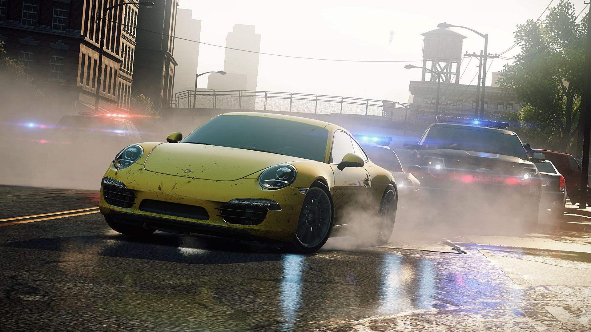 Need for Speed Most Wanted wallpaper 2