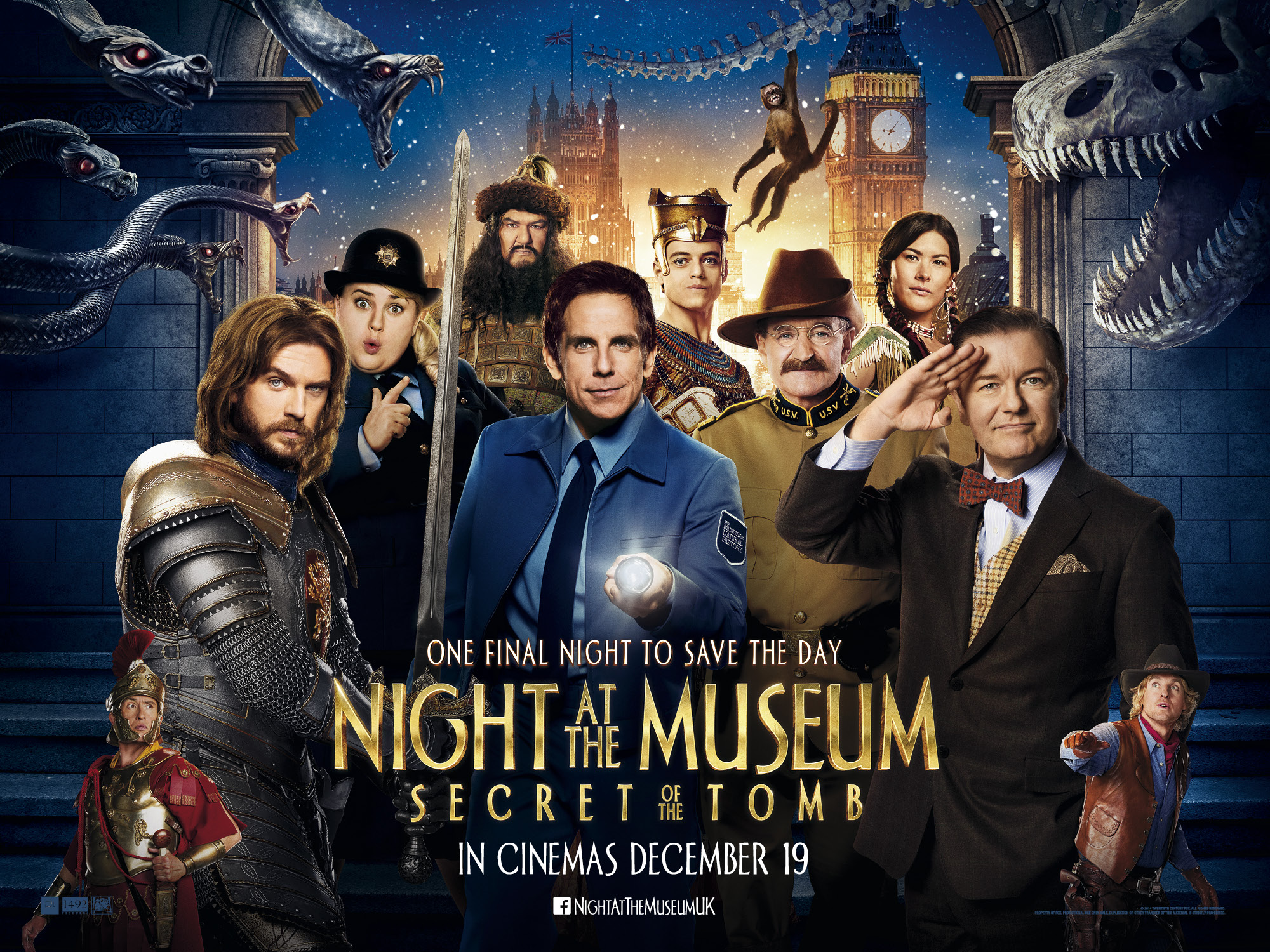 Night at the Museum 3 wallpaper 2