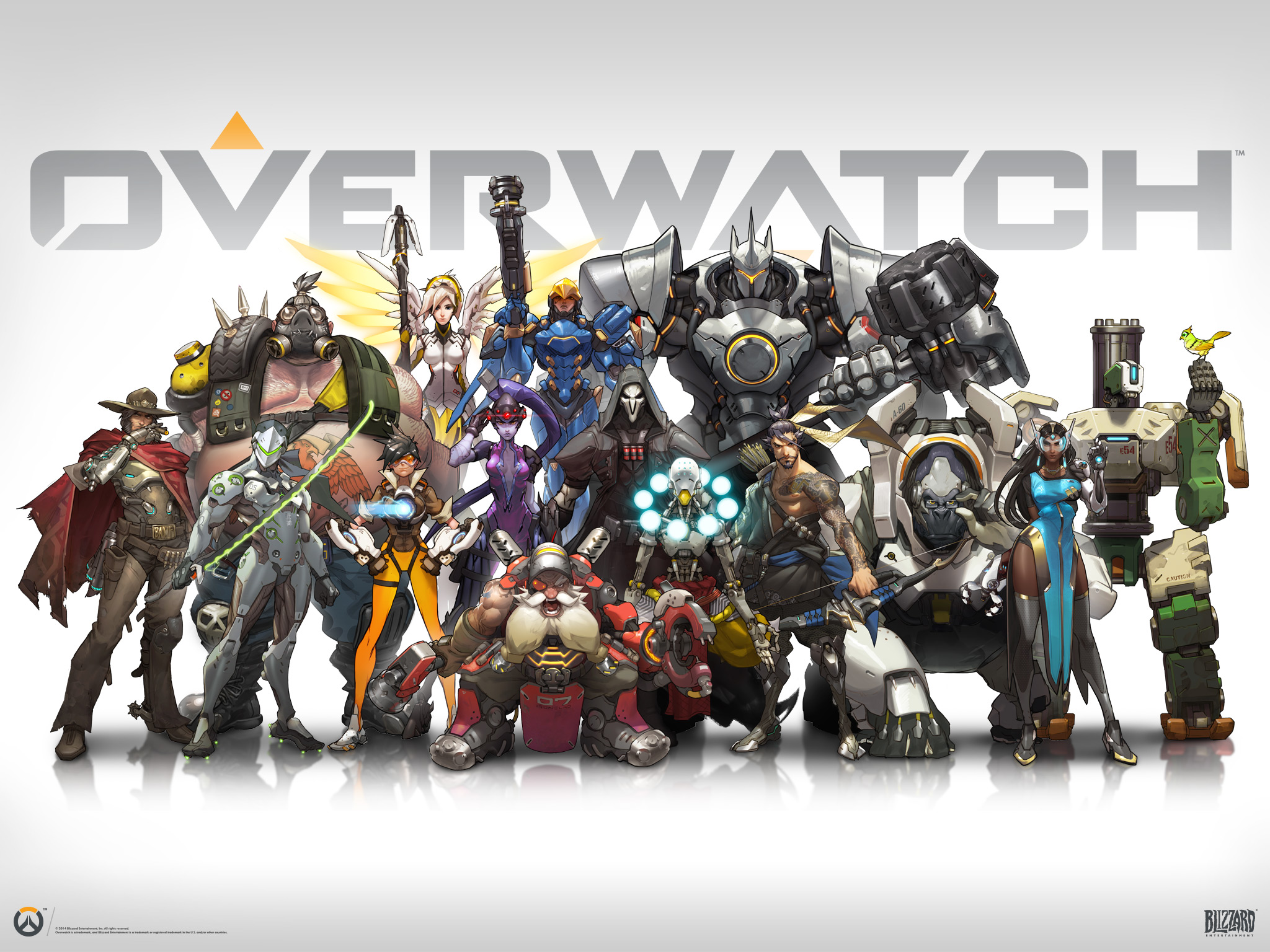 Overwatch wallpaper 2