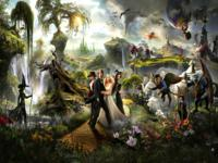 Oz the Great and Powerful wallpaper 1