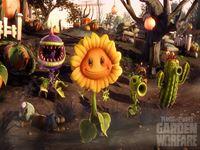 Plants VS Zombies Garden Warfare wallpaper 7