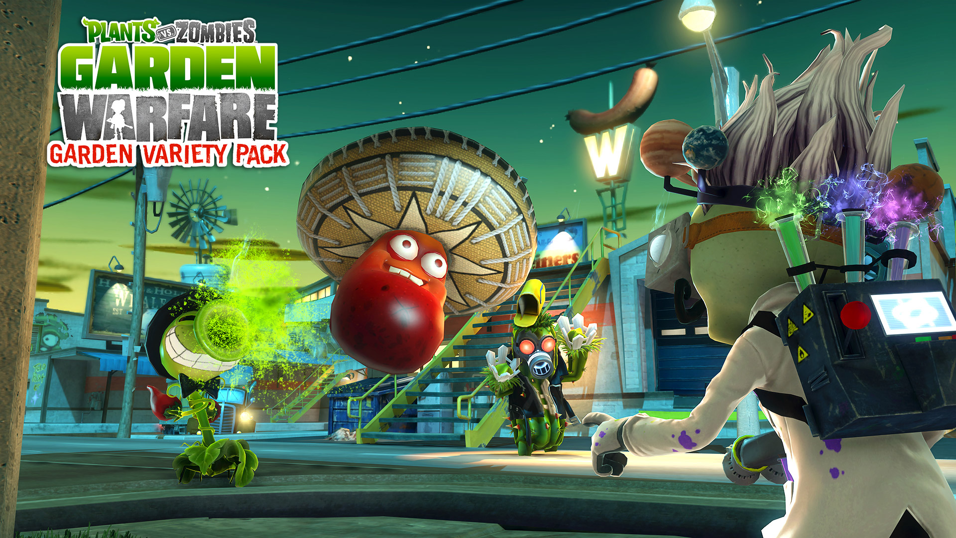 Plants VS Zombies Garden Warfare wallpaper 2