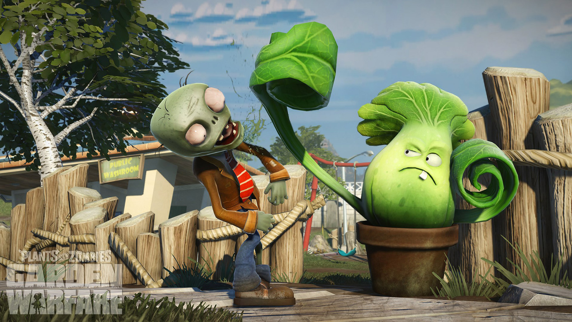 plants vs zombies garden warfare wallpaper 6 | wallpapersbq