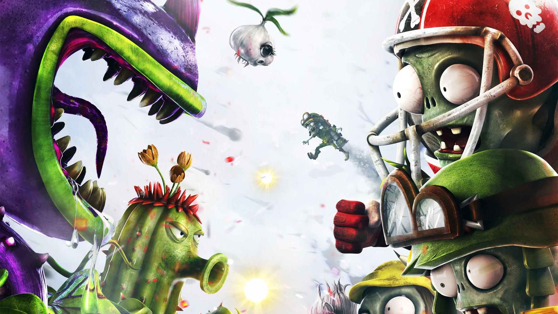 Plants VS Zombies Garden Warfare wallpaper 8