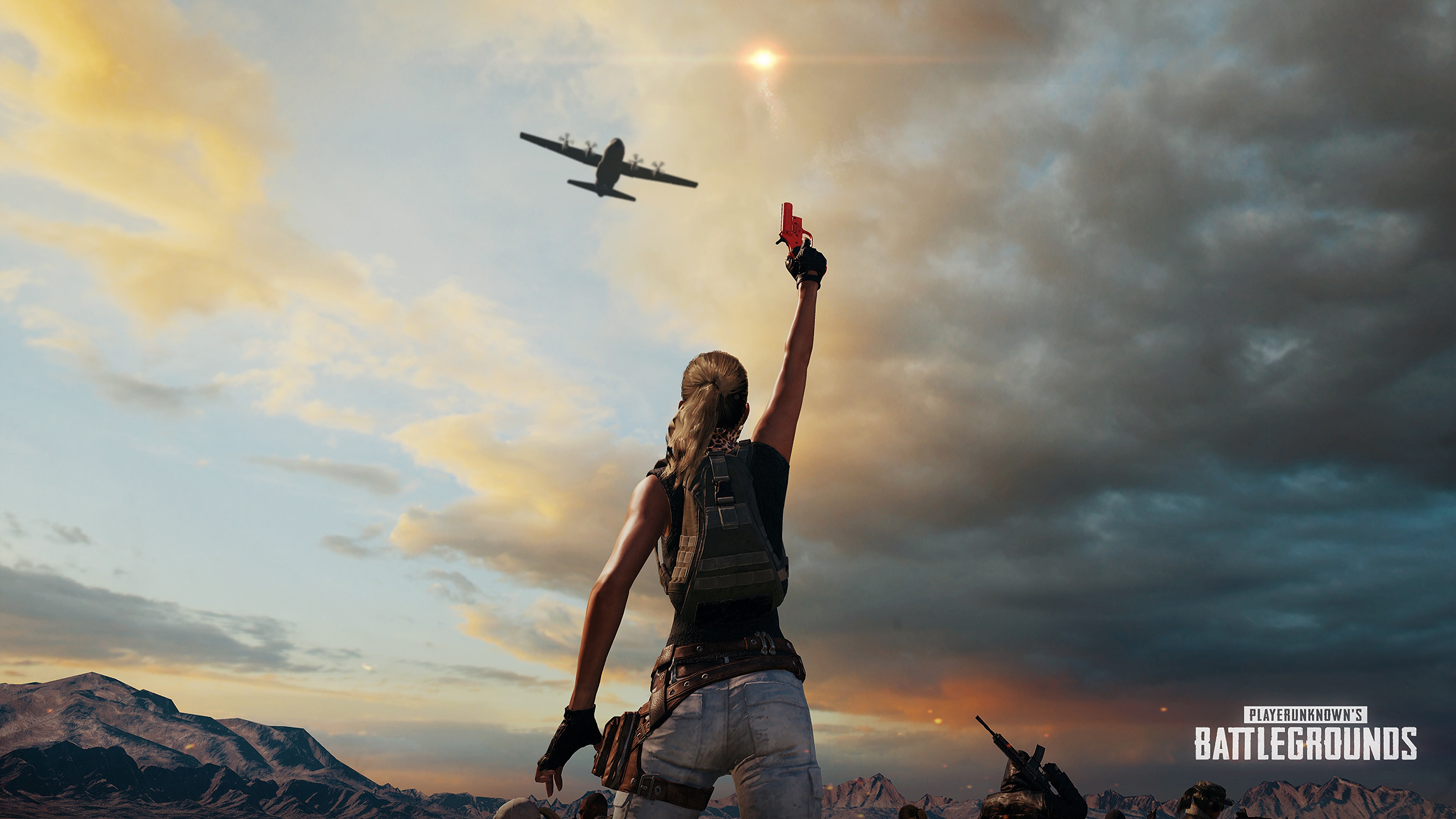 Playerunknown S Battlegrounds Wallpaper M4: Pubg Playerunknowns Battlegrounds Background 1