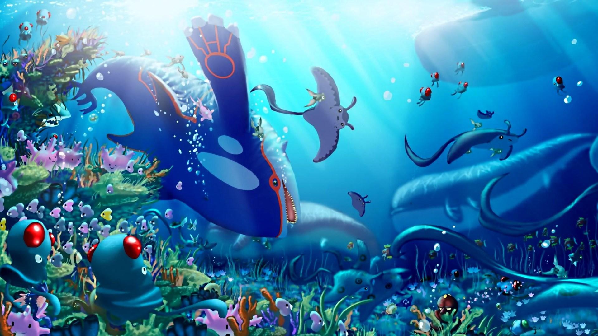 аквариум живые обои на рабочий стол hd