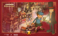 Professor Layton and Pandoras Box wallpaper 1