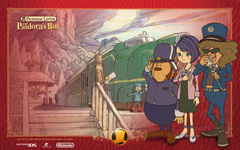 Professor Layton and Pandoras Box wallpaper 2