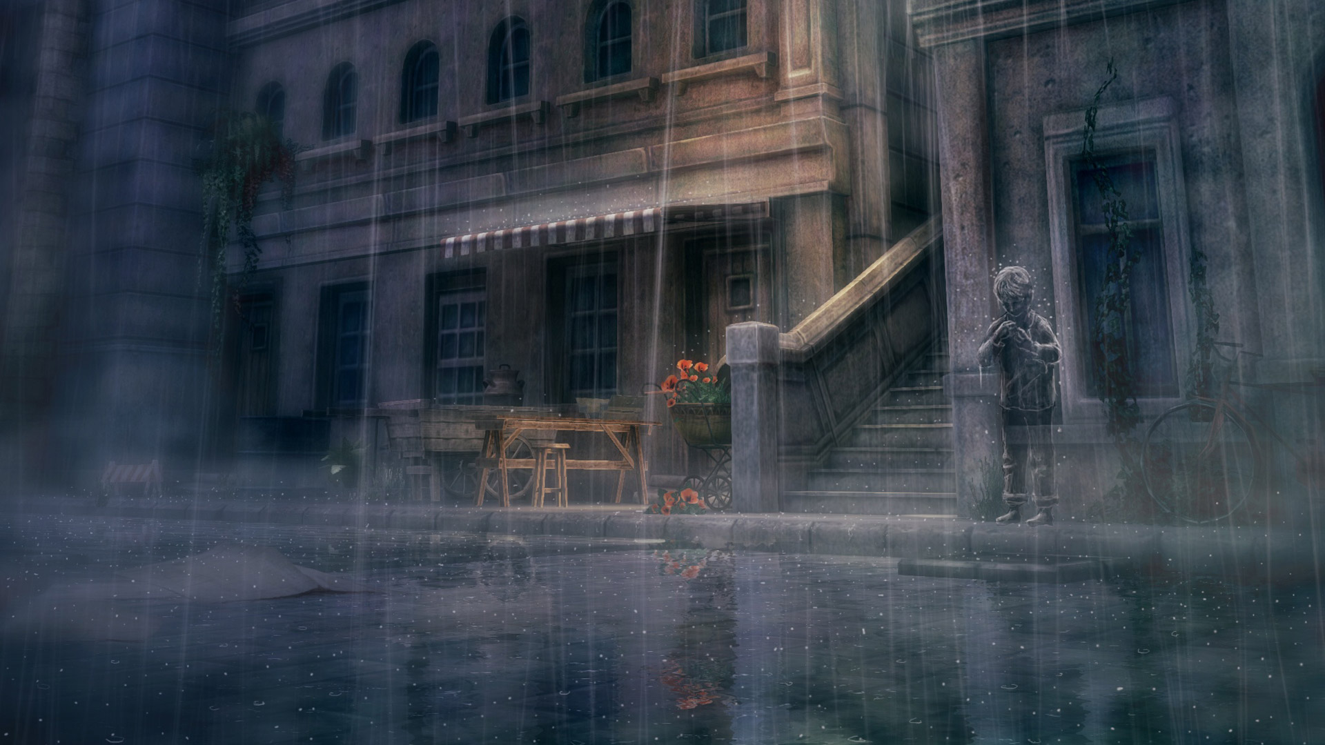 Rain wallpaper 2