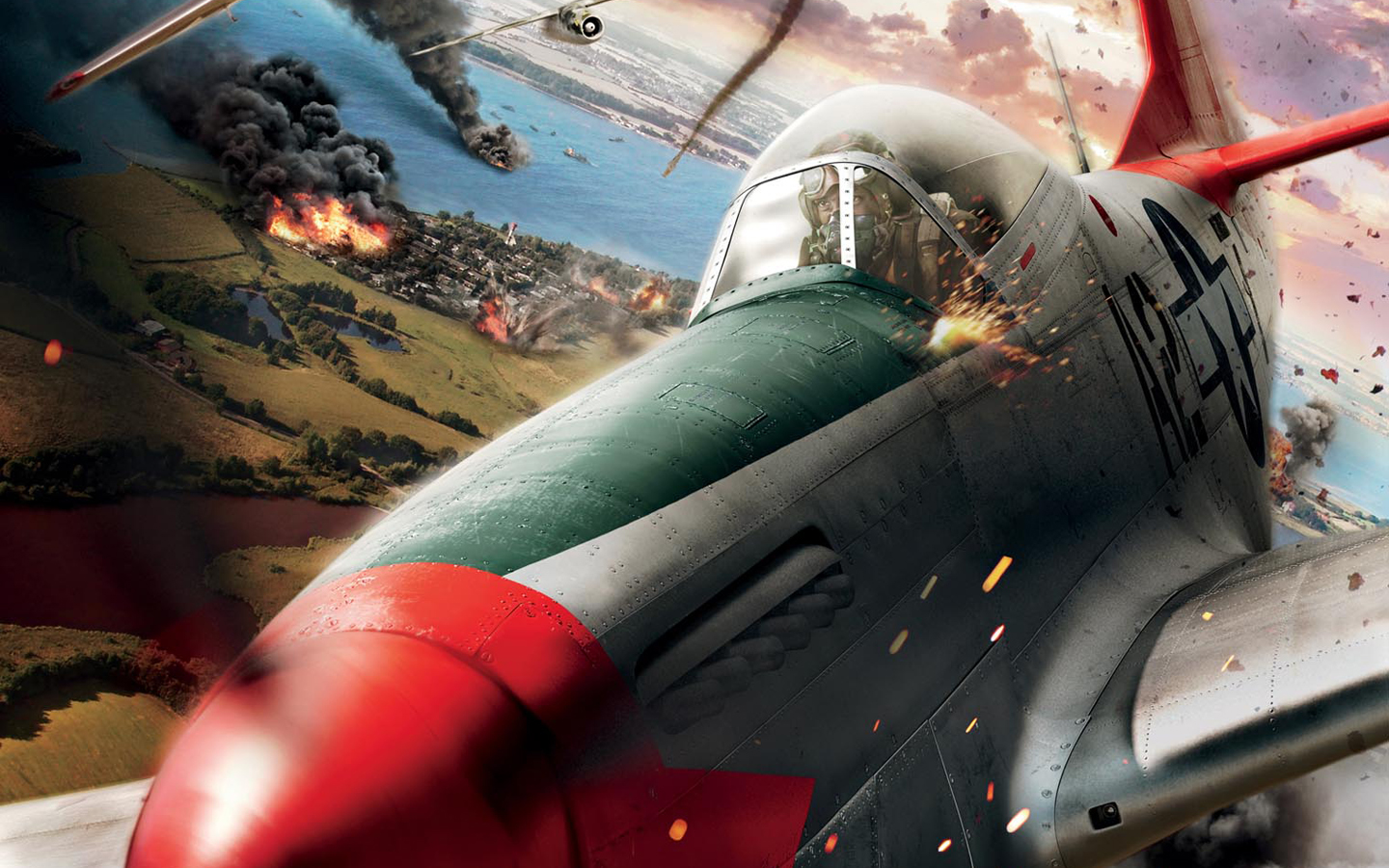 Red Tails wallpaper 3