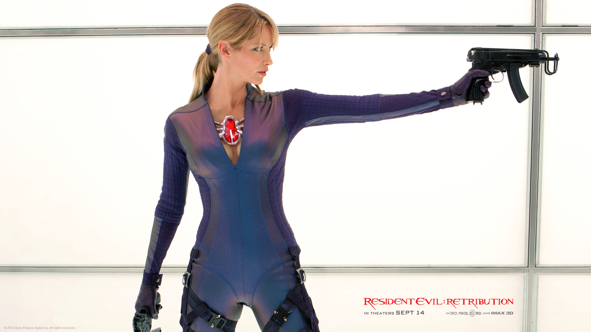 Resident Evil Retribution wallpaper 9